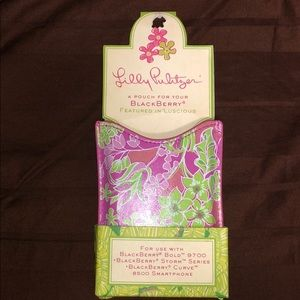 NWT Lilly Pulitzer phone pouch
